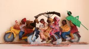 """Sylvie Koenig, """"Moto-taxis, Togolais"""""""